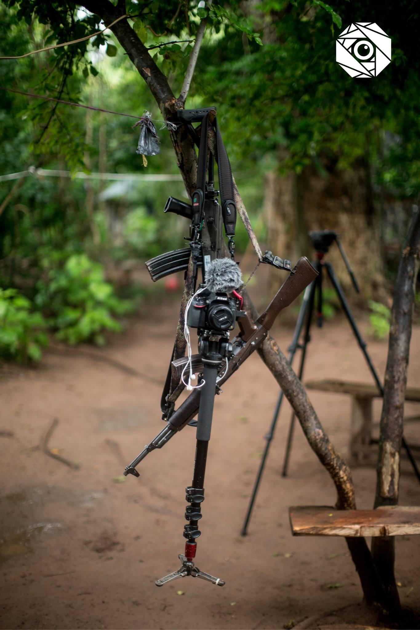 Arma cámara