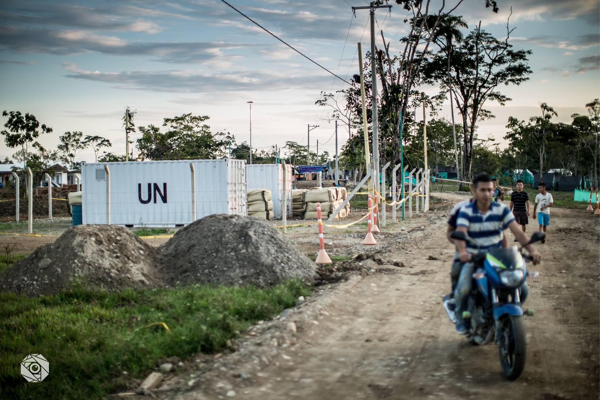 Contenedores de Naciones Unidas