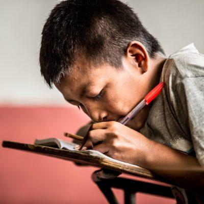 En la escuela étnica
