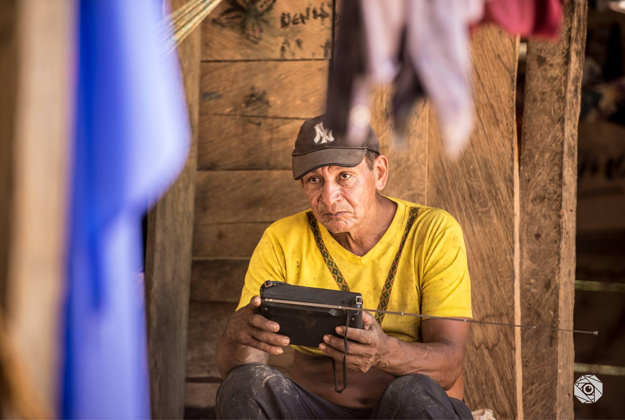Radio en Caño Indio